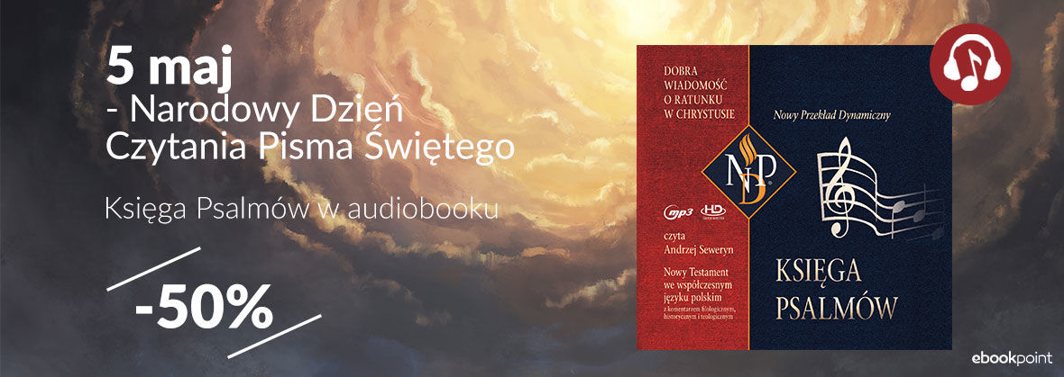 Promocja Promocja na ebooki VOCATIO [Księga Psalmów w audiobooku -50%]