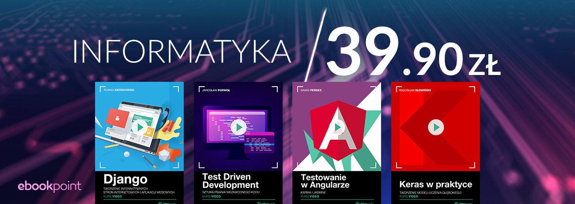 Promocja na ebooki Zacznij programować! Kursy video 39.90 zł
