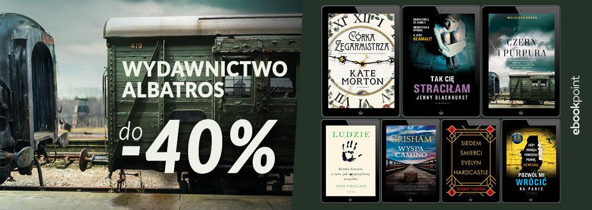 Promocja na ebooki WYDAWNICTWO ALBATROS [TOP50 do -40%]