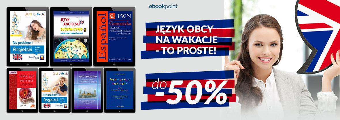 Promocja na ebooki JĘZYK OBCY NA WAKACJE - TO PROSTE! [do -50%]