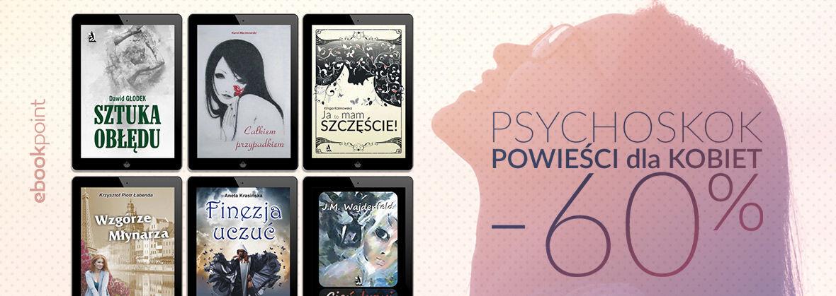 Promocja na ebooki Psychoskok dla kobiet! [-60%]