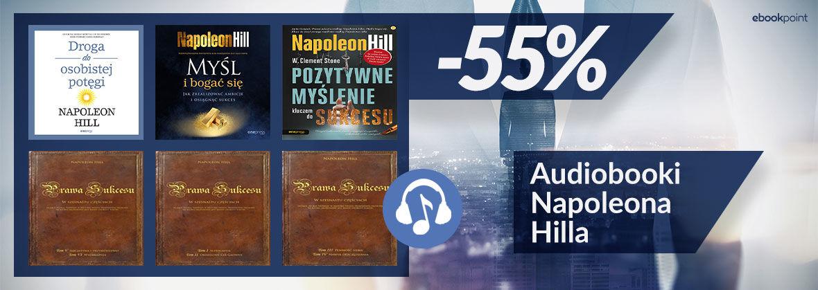 Promocja Promocja na ebooki Audiobooki Napoleona Hilla [-55%]
