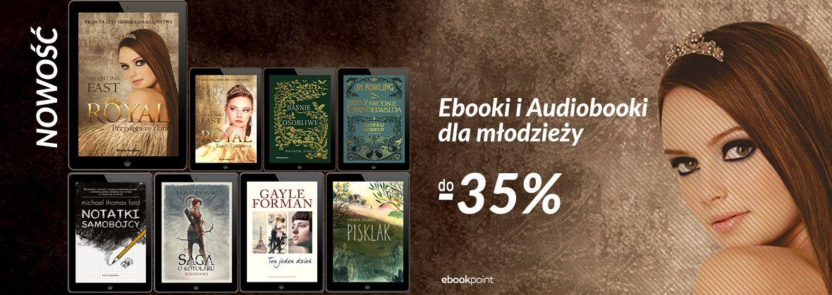 Promocja Promocja na ebooki Ebooki i Audiobooki - dla młodzieży!