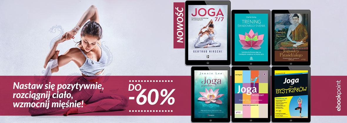 Promocja na ebooki Odkryj jogiczny styl życia [do -60%]