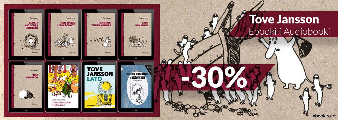 Promocja na ebooki TOVE JANSSON. Ebooki i audiobooki -30%