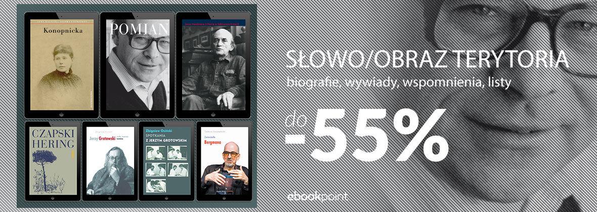 Promocja na ebooki Biografie, wywiady, wspomnienia, listy | do -55%