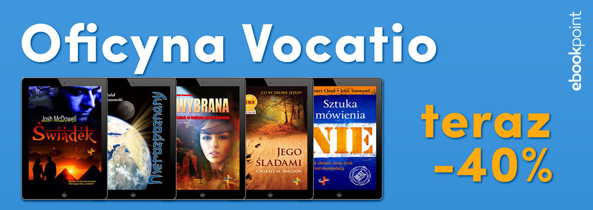 Promocja na ebooki VOCATIO [-40%]