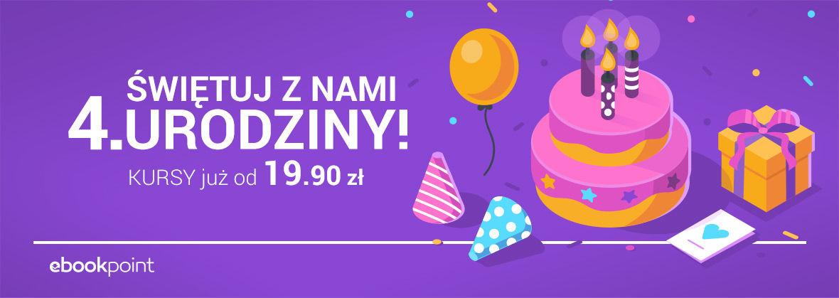 Promocja na ebooki Videokursy urodzinowo! [Kursy od 19.90 zł.]