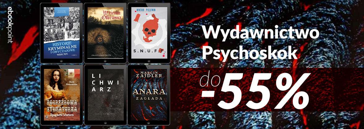Promocja na ebooki Wydawnictwo Psychoskok [do -55%]
