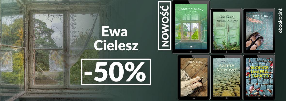 Promocja na ebooki Ewa Cielesz [-50%]
