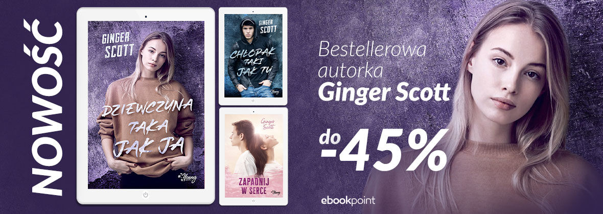 Promocja na ebooki Ginger Scott [do -45%]