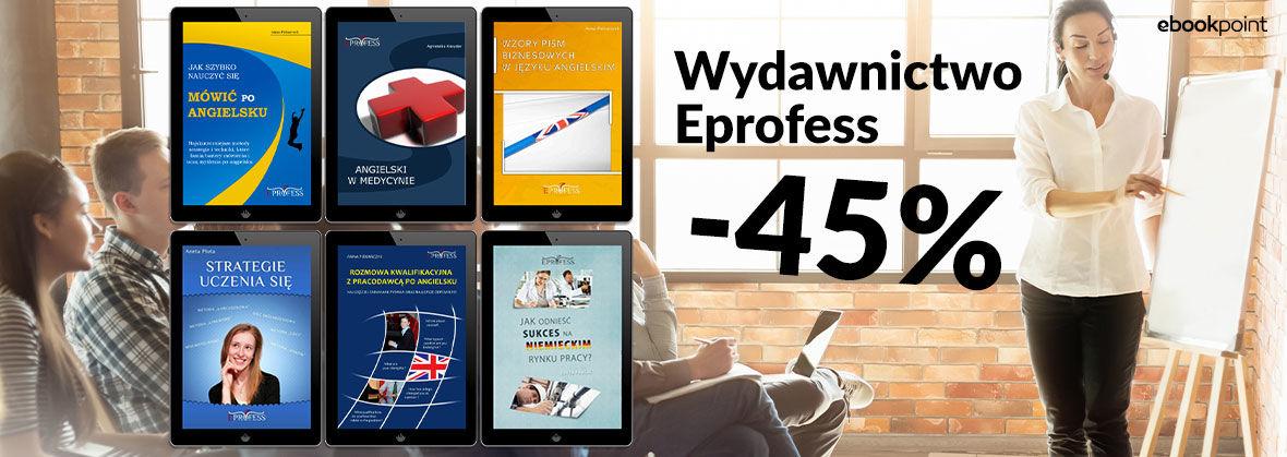 Promocja na ebooki Wydawnictwo Eprofess [-45%]