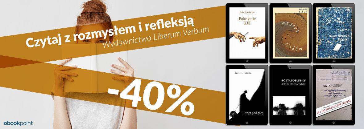 Promocja na ebooki Czytaj z rozmysłem i refleksją [-40%]