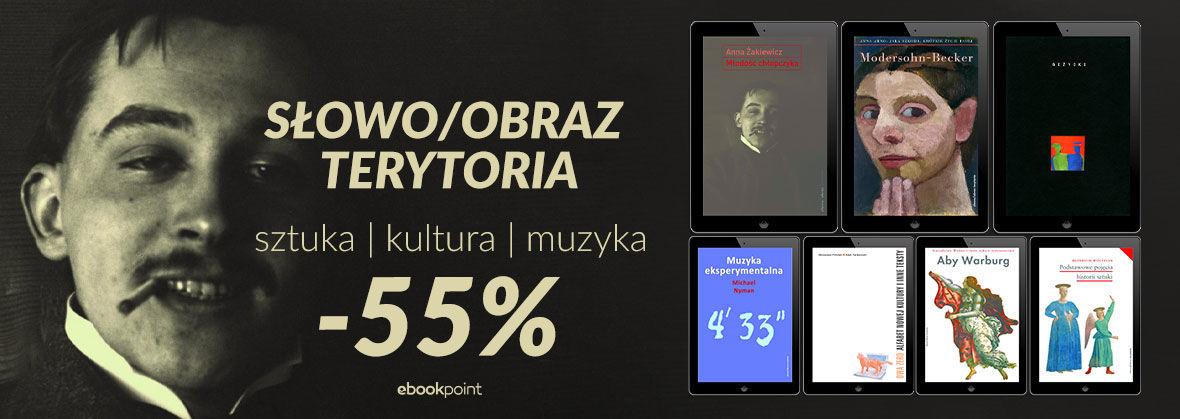 Promocja Promocja na ebooki Sztuka, kultura, muzyka [-55%]