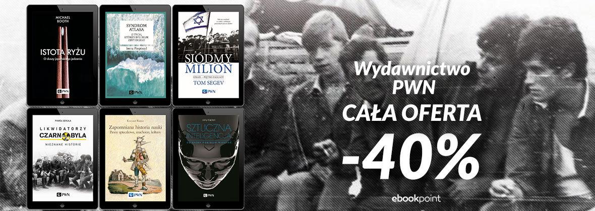 Promocja na ebooki Ponad 900 ebooków Wydawnictwa PWN! [Cała oferta -40%]