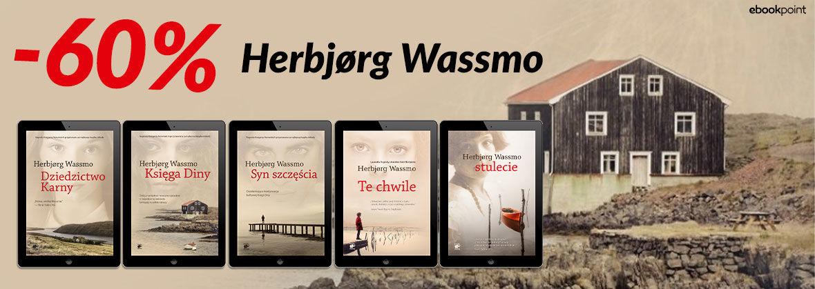Promocja na ebooki Herbjørg Wassmo [-60%]