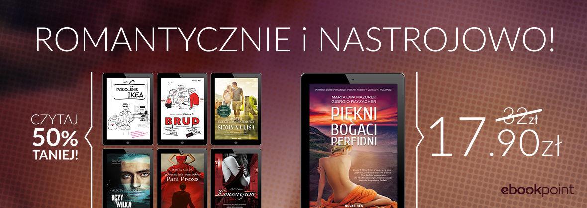 Promocja na ebooki Romantycznie i nastrojowo! [-50%]