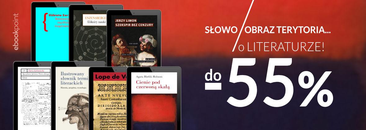 Promocja na ebooki Słowo / Obraz Terytoria .... o literaturze!
