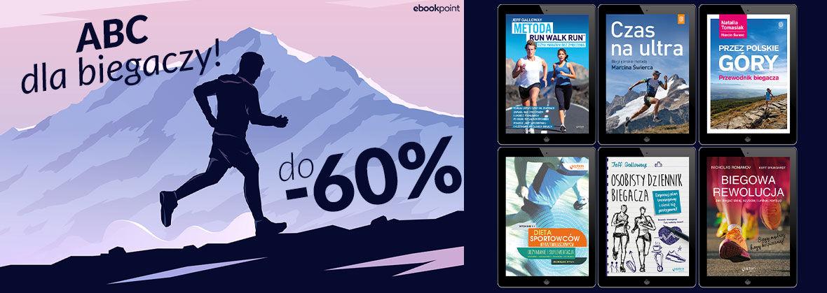 Promocja na ebooki ABC biegania [do -60%]