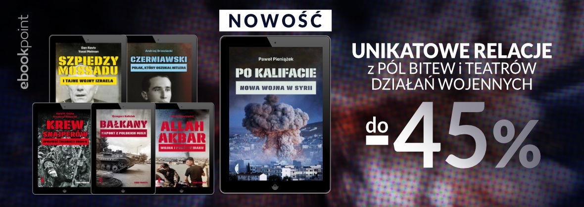 Promocja na ebooki Seria LINIE FRONTU [do -45%]