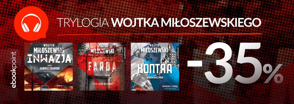 Promocja na ebooki Trylogia Wojtka Miłoszewskiego / Audiobooki -35%