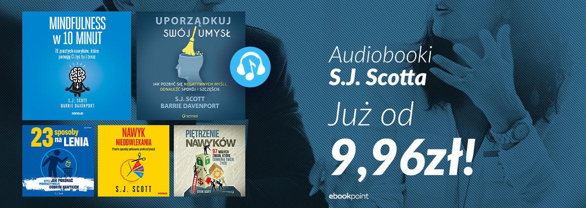 Promocja na ebooki Audiobooki S.J. Scotta [od 9,96zł!]