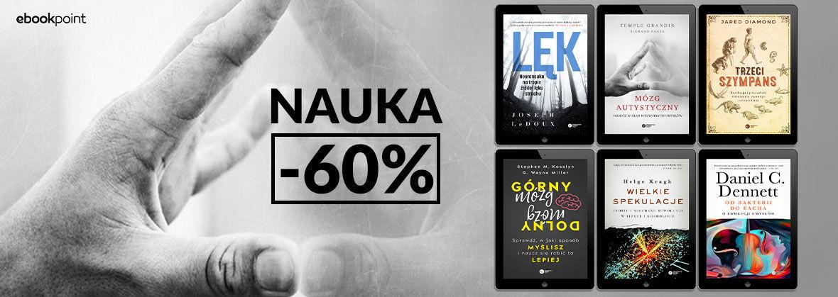 Promocja na ebooki NAUKA [-60%]