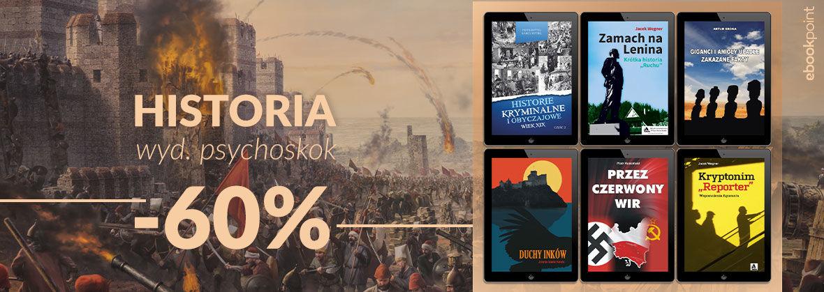 Promocja na ebooki PSYCHOSKOK [historia -60%]
