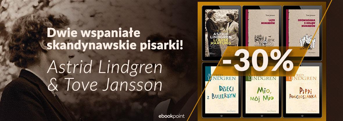 Promocja na ebooki Dwie wspaniałe skandynawskie pisarki!