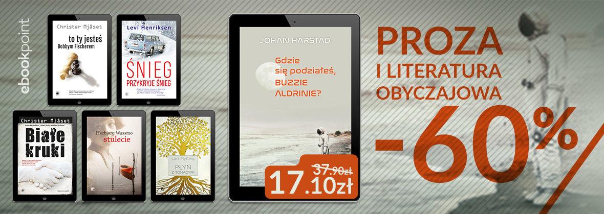 Promocja na ebooki Proza i literatura obyczajowa [Wydawnictwo Smak Słowa]