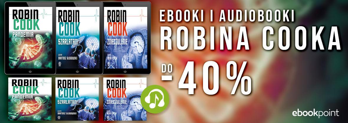 Promocja na ebooki Ebooki i audiobooki ROBINA COOKA / do -40%