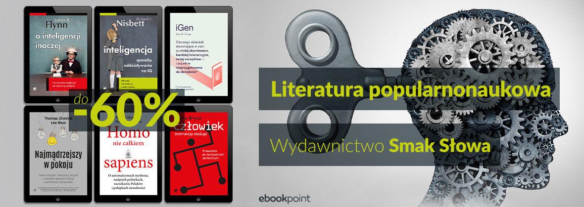 Promocja Promocja na ebooki Literatura popularnonaukowa Wydawnictwa Smak Słowa [do -60%]