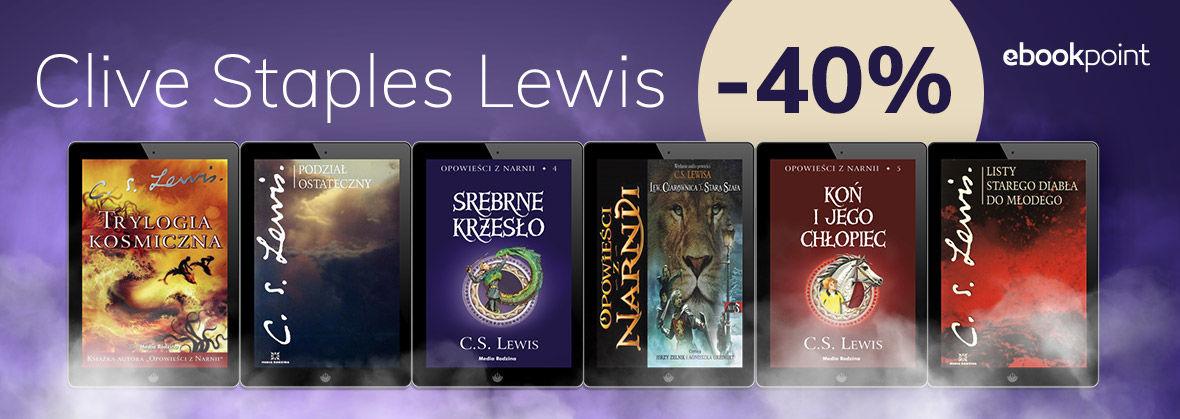 Promocja Promocja na ebooki Clive Staples Lewis [-40%]