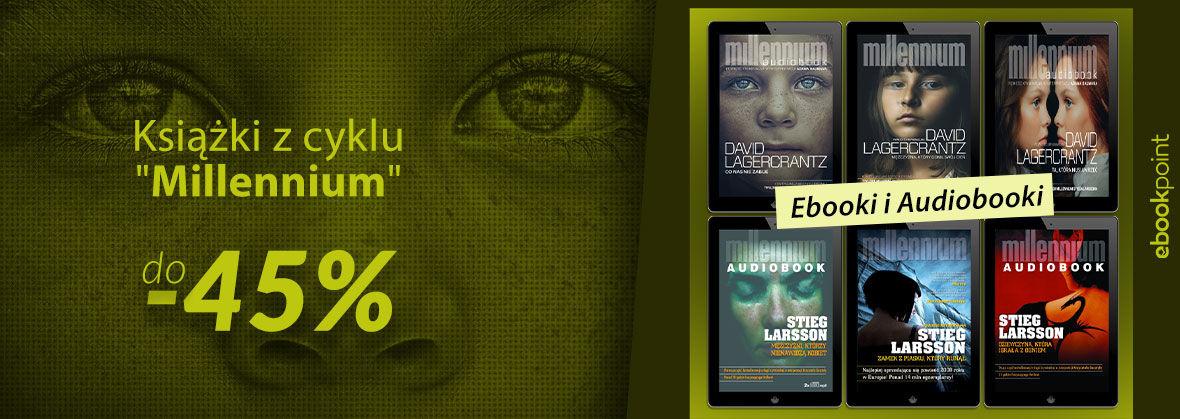 Promocja na ebooki Bestsellerowy cykl Millennium! [do -45%]