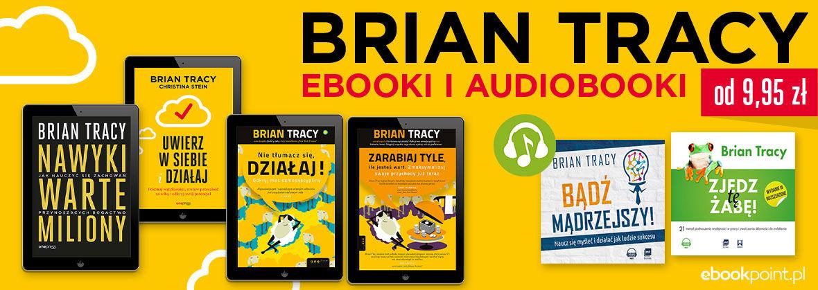 Promocja na ebooki BRIAN TRACY [ebooki i audiobooki 9,95zł]