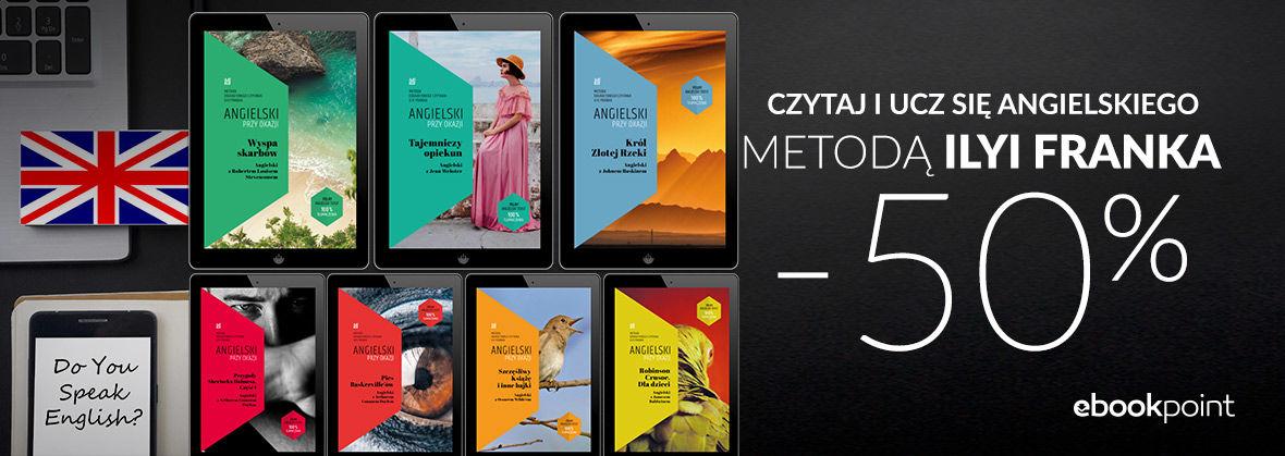 Promocja na ebooki Czytaj i Ucz się Angielskiego Metodą Ilyi Franka