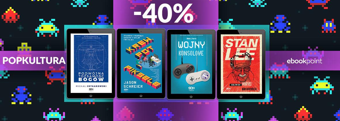 Promocja na ebooki POPKULTURA [-40%]