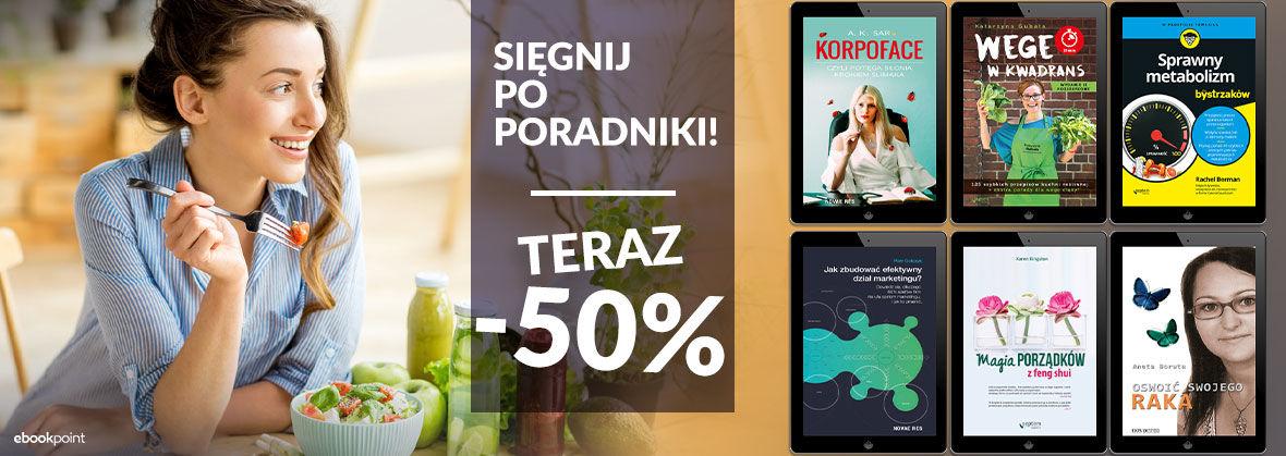 Promocja na ebooki Poradniki taniej do -50%