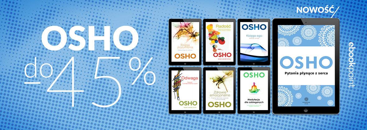 Promocja na ebooki OSHO [do -45%]