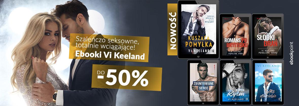 Promocja na ebooki Vi Keeland [do -50%]