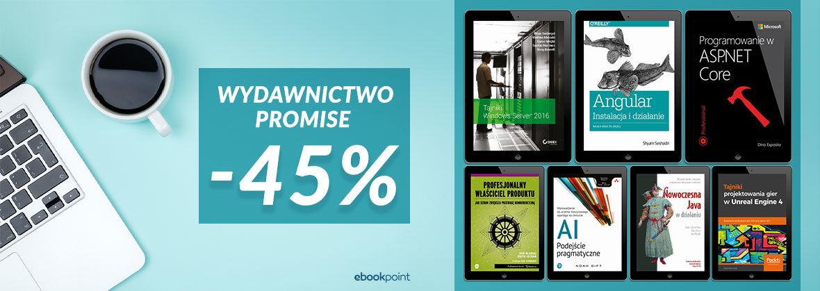 Promocja na ebooki Wydawnictwo Promise [-45%]