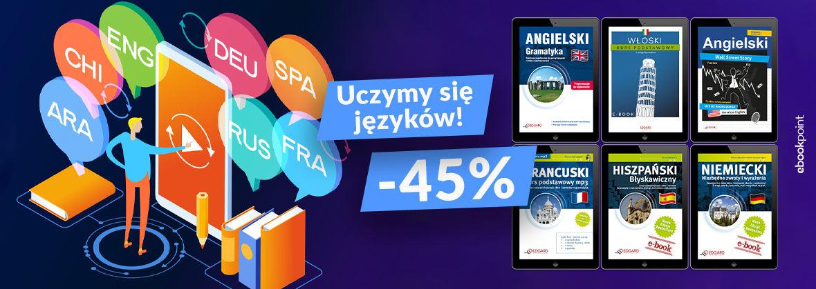 Promocja Promocja na ebooki Uczymy się języków! [-45%]