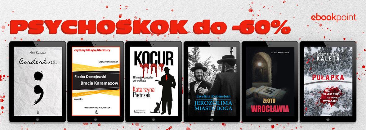 Promocja na ebooki Wydawnictwo Psychoskok [do -60%]