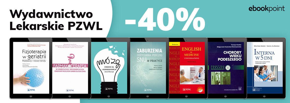 Promocja na ebooki Wydawnictwo Lekarskie PZWL [-40%]