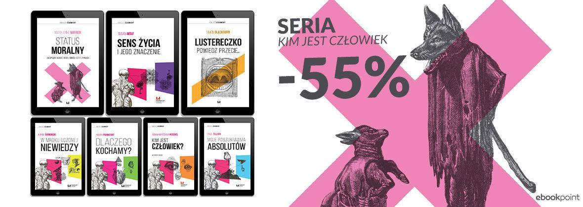 """Promocja Promocja na ebooki Seria """"Kim Jest Człowiek"""" [-55%]"""