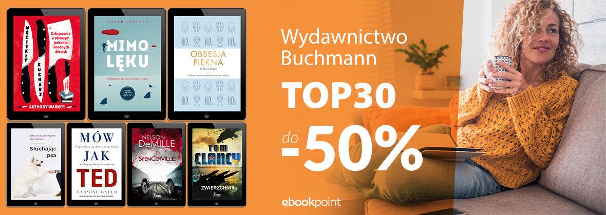 Promocja na ebooki Wydawnictwo BUCHMANN - TOP30