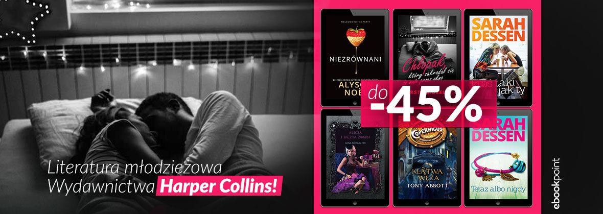 Promocja Promocja na ebooki Literatura młodzieżowa Wydawnictwa Harper Collins [do -45%]