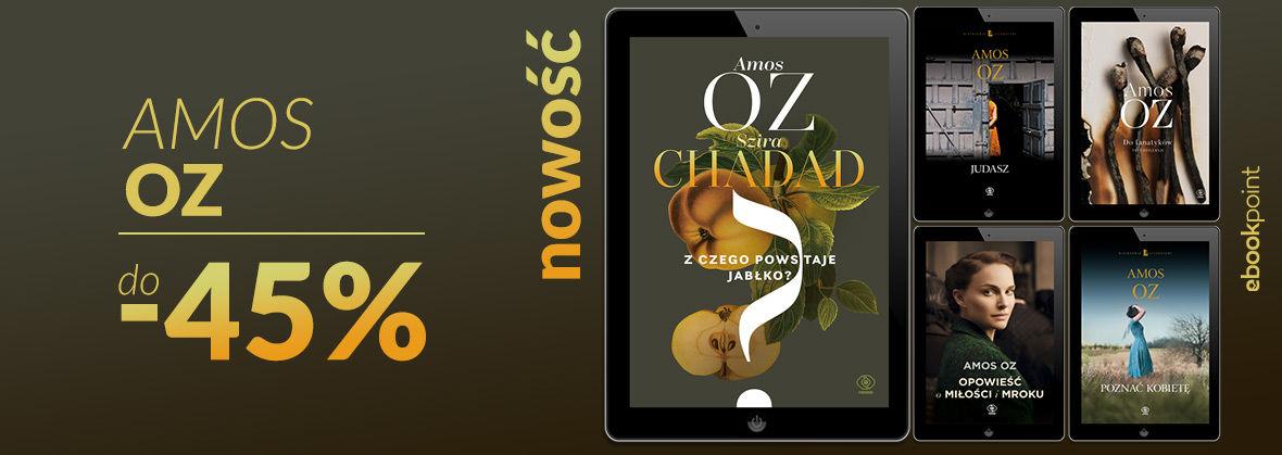 Promocja na ebooki Amos Oz [do -45%]