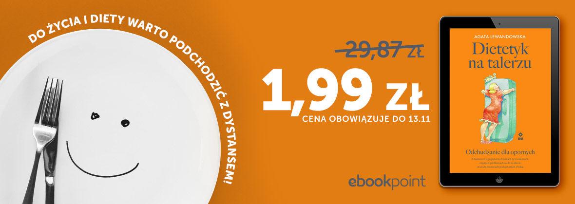 Promocja na ebooki Do życia i diety warto podchodzić z dystansem! / 1,99zł!