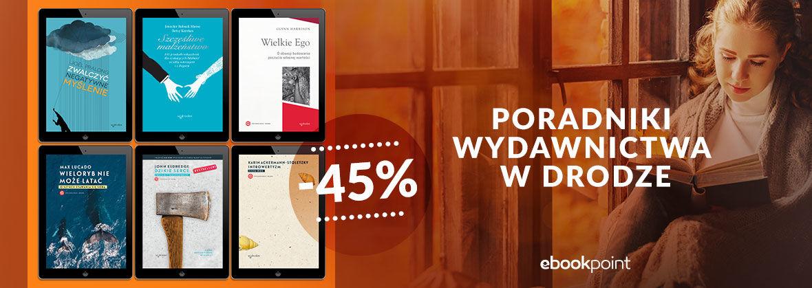 Promocja na ebooki Poradniki Wydawnictwa W Drodze / -45%